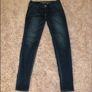 jeans, gently used